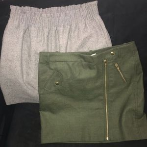 Lot of J CREW size 4 mini skirts business work